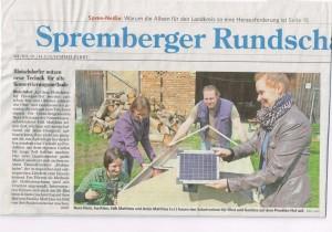 Kurzer Bildbeitrag zum kleinen Solartrocknerworkshop.